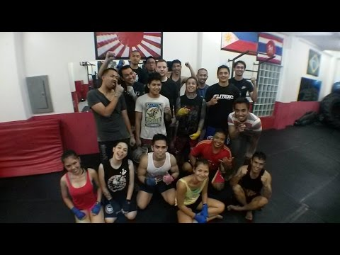 In The Gym - Spartacus Fitness & Martial Arts, Manila