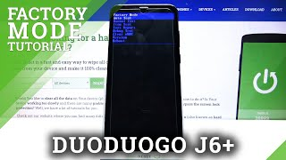 How to Enter Factory Mode on DUODUOGO J6+ - Open Factory Mode