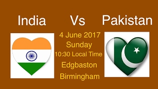 full schedule of icc champions trophy 2017    birmingham will host india pakistan heavyweight clash