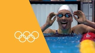 Records Broken In The Pool | 90 Seconds Of The Olympics