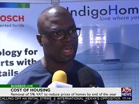 Cost of housing - Business Live on JoyNews (6-9-17)