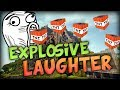 Explosive Laugh in TNT Wars w/ Nooch, Vikk, Woof and TheCampingRusher
