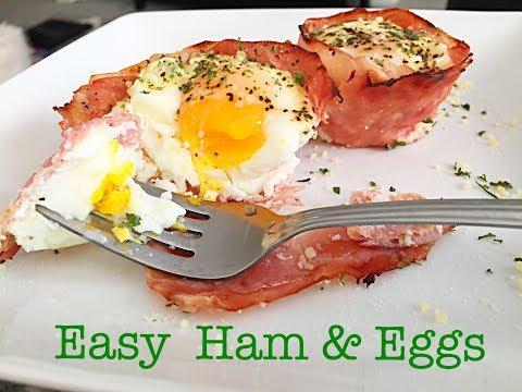 Easy Ham & Eggs Bake | Quick & Healthy Breakfast Ideas