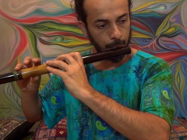 Flauta Transversal - Estilo Zen 4 furos F (Fá)