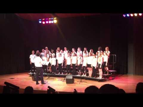 "Francis Parker Middle School Chorus performs ""Everything"" by Michael Bublé"