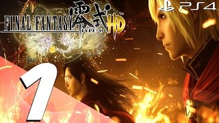 Final Fantasy Type-0 HD - English Walkthrough Part 1 - Prologue