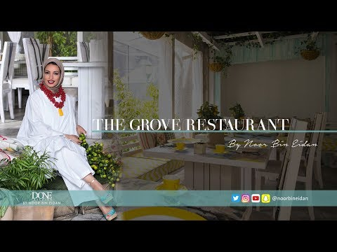 The Grove Restaurent in Kuwait City - DONE by Noor Bin Eidan