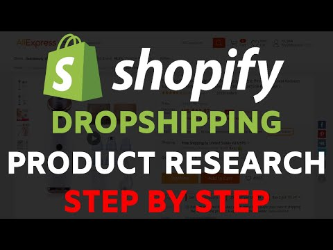 Shopify Dropshipping Product Research Tutorial | Find Winning Products Step By Step thumbnail