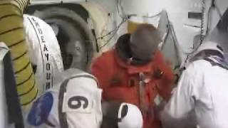 STS-127: Astronauts Are Boarding Shuttle Endeavour Part 3