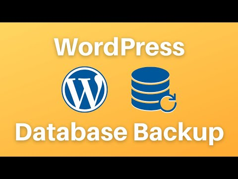 How to backup wordpress website and database?