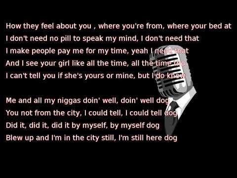 Drake - Still Here (lyrics)