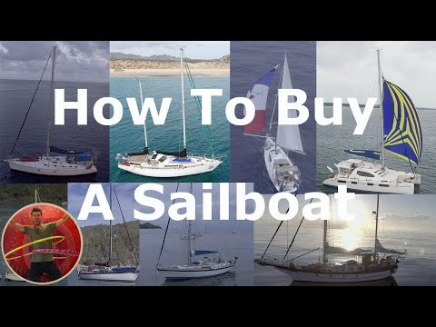 how to buy a sailboat to live on