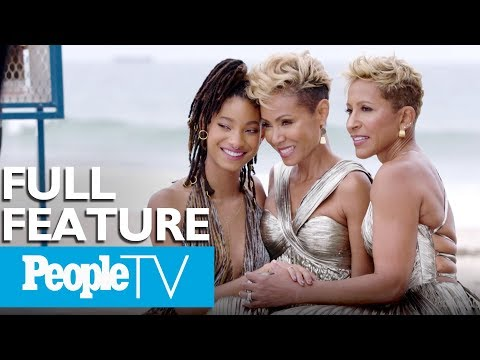 Jada Pinkett Smith Willow Smith & Adrienne Banfield Norris On Show &39;Red Table Talk&39;  PeopleTV