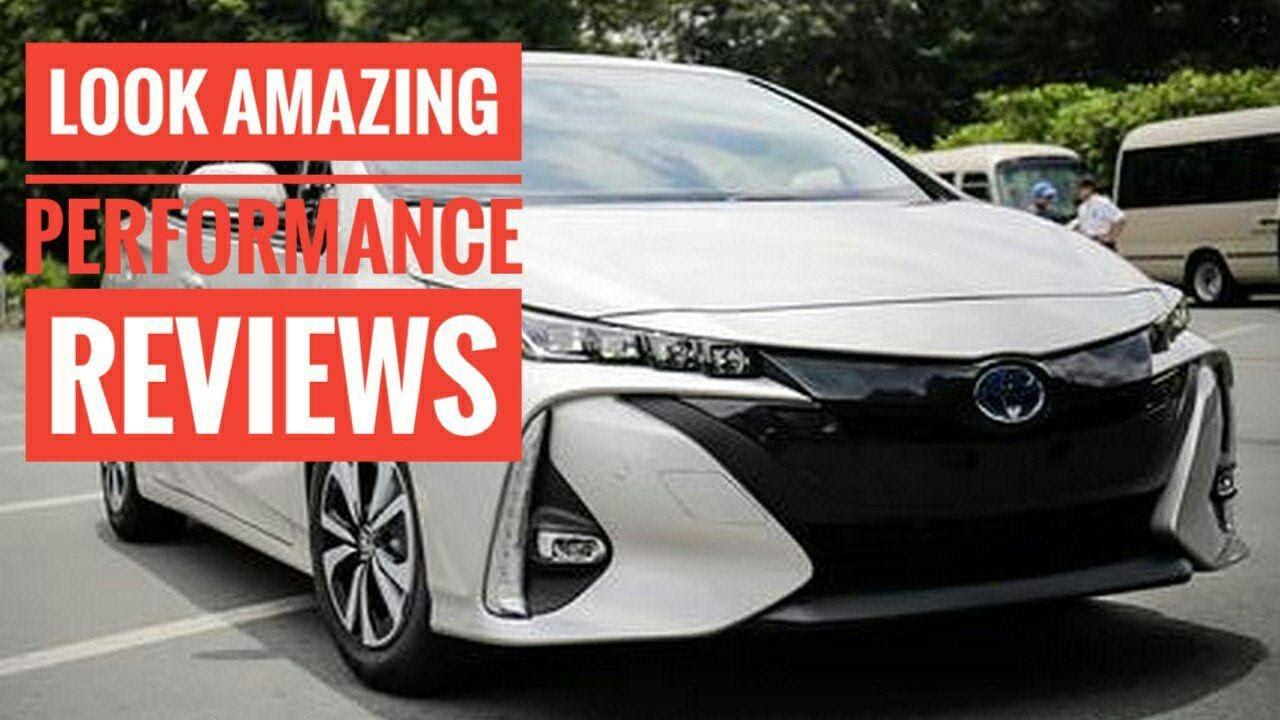Look 2017 Toyota Prius Prime Plug In Hybrid Performance Review