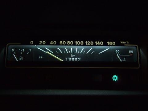 Ока 360 ; Подсветка панели приборов