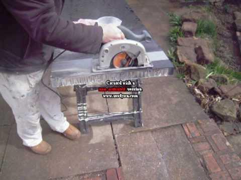Cutting V Stone Granite Worktops Youtube