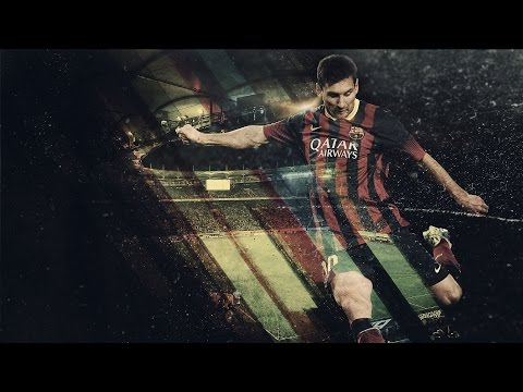 Photoshop Tutorial - How to Create A Football Sport Event Poster