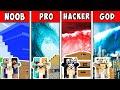 Minecraft NOOB vs PRO vs HACKER vs GOD: FAMILY TSUNAMI