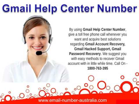 Gmail Technical Support Number Australia - YouTube
