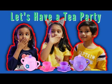 Pretend Play TEA PARTY With Tepsmigo Ice Cream And Toy Tea Set Your Videos on VIRAL CHOP VIDEOS