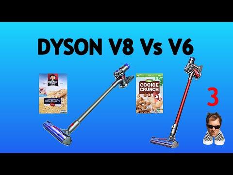 141ac334f3b Best Cordless Stick Vacuum Cleaners 2018  Tineco A10 Hero vs. Dyson V8  Animal Unboxing. Dyson V6 vs V8 Porridge and Cookies TEST
