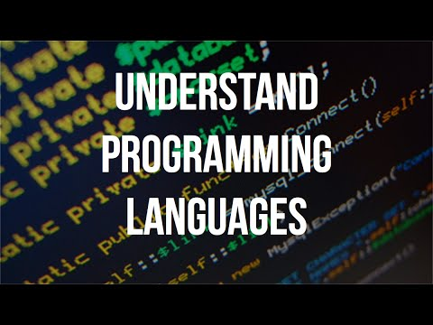 Understand Programming Languages