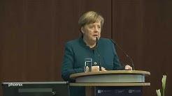 Bundeskanzlerin Angela Merkel zu den Auswirkungen des Coronavirus auf die Wirtschaft am 09.03.20