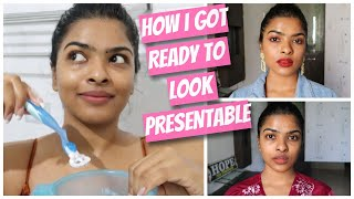*REAL ME* My REALISTIC GRWM : Body Care / Quick Face Shaving / Go to Makeup & Signature Hairstyle