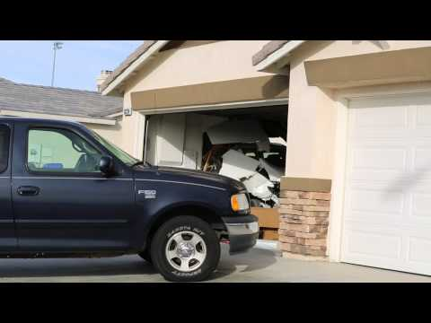 Car Crashes into Victorville Home