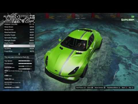 Gta Online Car Customisation (Dewbauchee Specter Custom)