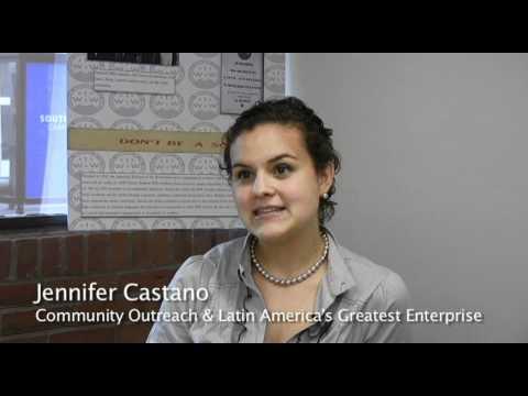 Jennifer Castano, Community Outreach & Latin America's Greatest Enterprise
