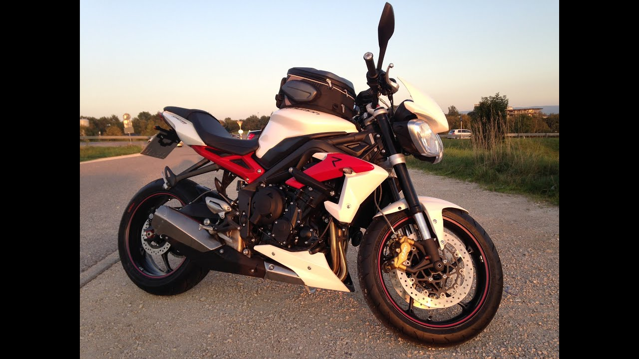 street triple 675 r 2014 sound stock exhaust youtube. Black Bedroom Furniture Sets. Home Design Ideas