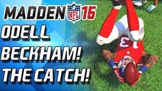 ODELL BECKHAM DEEP FRYS THE EAGLES! - Madden 16 Ultimate Team Pack N Play!