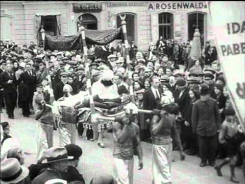 Rongikäik Tartus, Festivities in Tartu (1939?)