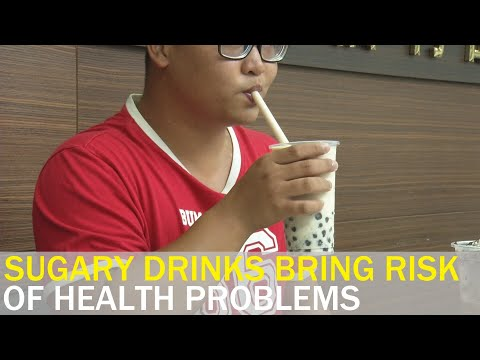 Sugary drinks increase risk of health problems: Expert | Taiwan News | RTI thumbnail
