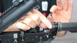 Cross Armory QUICK PINS   CA Legal AR-15   QUICK PINS Installation