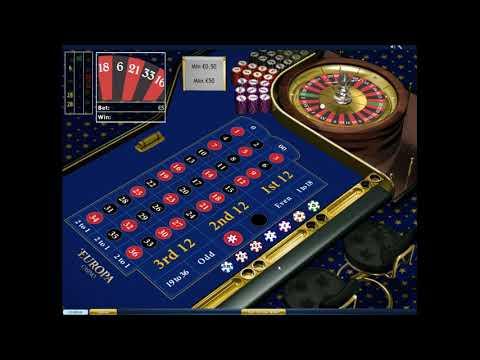 Игра в рулетку по системе ставок Мартингейл