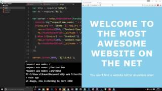 Node JS Tutorial for Beginners #19 - Basic Routing