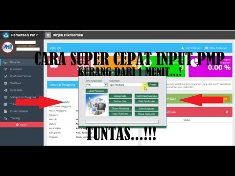 Cara Super Cepat Input PMP 2017 (Faster PMP 2017 v. 1.5c)