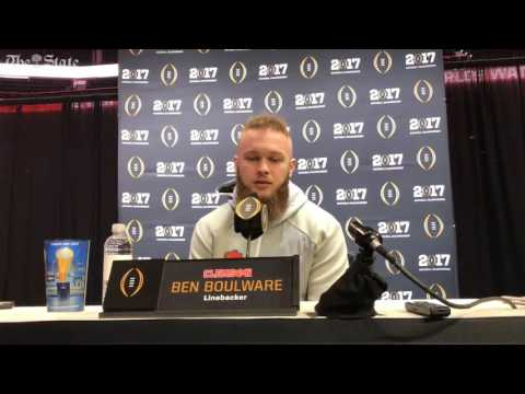 Ben Boulware on national title game 'This is a business trip.'