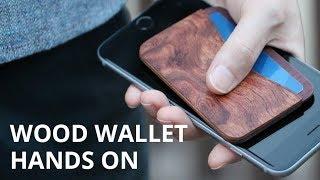 Minimalist Wood Wallet Hands On