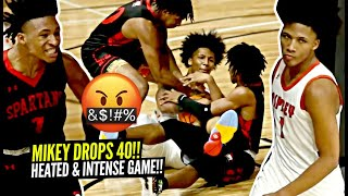 Mikey Williams Gets HEATED & Drops 40 POINTS!! Game Gets INTENSE & Goes Down To The Wire!