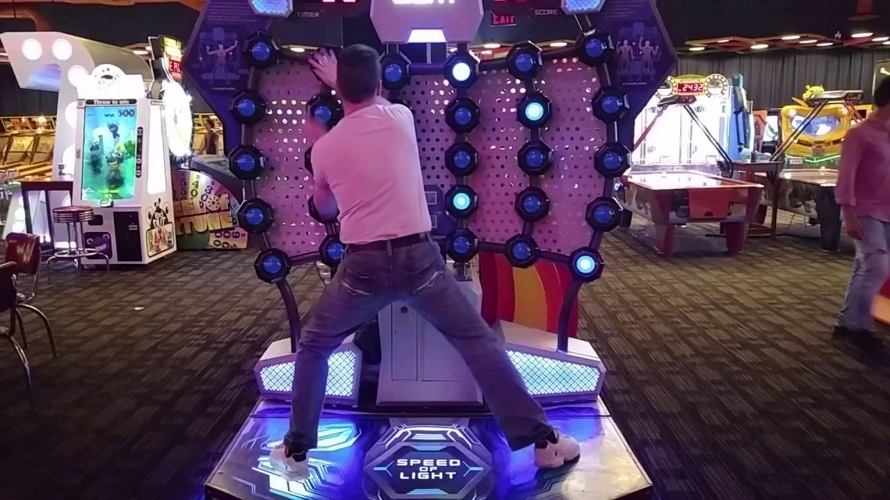 814 Score On Speed Of Light At Dave And Busters Vaughn