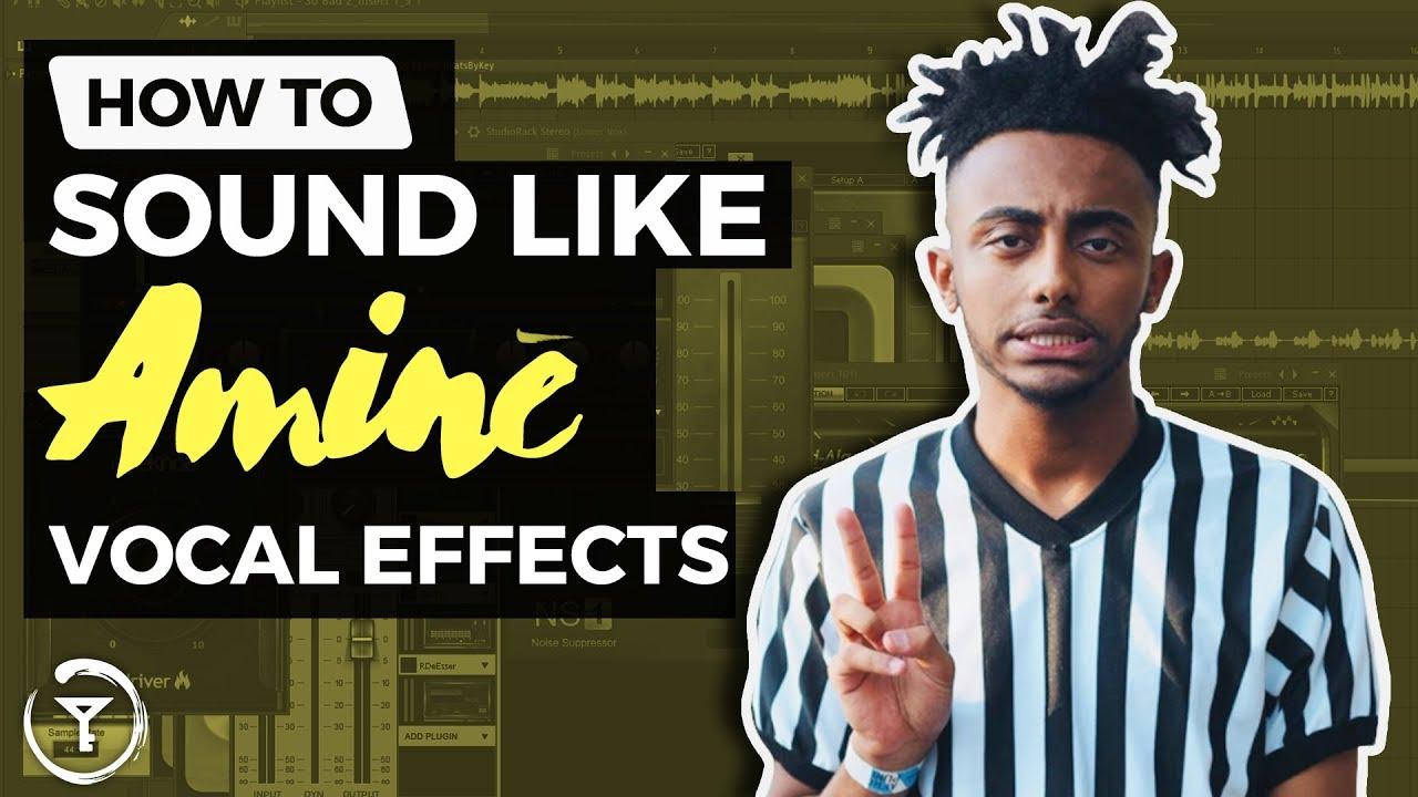 How To Sound Like Amine | FLP VOCAL EFFECTS | FL Studio 12