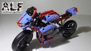 Lego Technic 42036 Street Motorcycle / Strassenmotorrad - Lego Speed Build Review