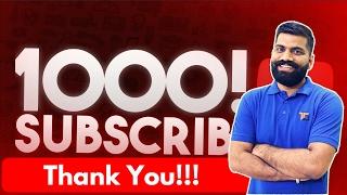 Video Thank You All 1000 Subscribers!!! download MP3, 3GP, MP4, WEBM, AVI, FLV November 2017