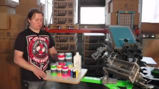 SDLPRO Siebdruckfarbe zum Bedrucken von Textilien