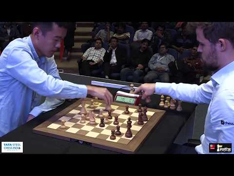 Rematch: Ding Liren vs Magnus Carlsen | Tata Steel Chess India Blitz 2019
