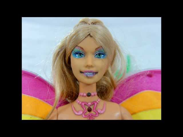 (YG115) Barbie Fada Do Campo De Filme A Magia Do Arco Iris  Dvd De Travel Video