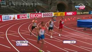 4x400 Relay Men 2 Heat European Team Championships 2011 Stockholm